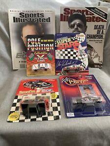 Nascar Diecast, Race Programs, and Dale Earnhardt Memorial Magazine NASCAR Lot.