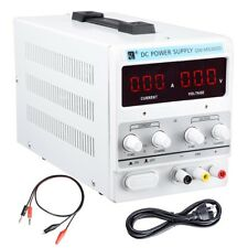 DC Power Supply - 30V 5A Adjustable Dual Digital Variable Precision Lab Grade