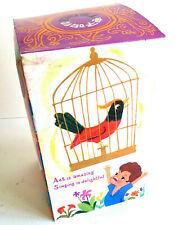 Electronic Active Singing Bird Toy TEOOI-S New Vintage Damaged Box NOS Rare