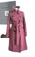 *NEW* Very Rare 'Couture' Bespoke Burberry London Trench Coat MAC 8 10