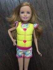Stacie Doll Clothes Yellow Vinyl Jumper Mattel Ski Jacket Vest Strawberry Blonde
