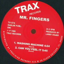 """MR. FINGERS """" WASHING MACHINE """" / """" CAN YOU FEEL IT """" / """"ABOVE """" NEW UK 12 TRAX"""