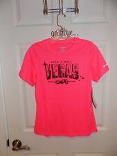 Brooks Rock n Roll Las Vegas Marathon 2013 Pink Technical T-Shirt in Women's Siz