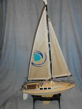 Vintage 1999 Nikko Mariner Sailboat Model 19040Bc Remote Control Toy 1/25 Scale
