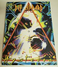 DEF LEPPARD HYSTERIA GUITAR TAB SONGBOOK TABLATURE MUSIC BOOK