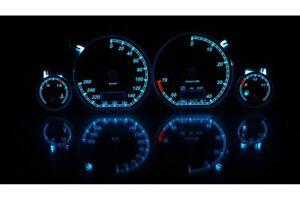 Volkswagen Golf MK3 - custom gauges, range starts on top glow gauges dials plasm