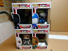 FUNKO POP 4 PC G I JOE STORM SHADOW ROADBLOCK COBRA COMMANDER SNAKE EYES FIGURES