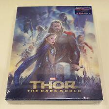 NEW Thor The Dark World Blufans lenticular slip steelbook 3D blu-ray China