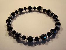 Armband Armreif Bracelet Damenarmband Facettierte Glas Perlen Modeschmuck NEU