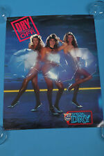 "Old Style special dry dry yourself off beer poster from 1989 24""X18.5"""