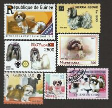 SHIH TZU ** Int'l Dog Postage Stamp Art Collection ** Great Gift Idea **