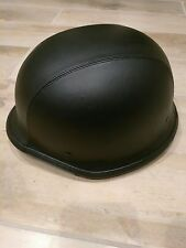 German leather helmet (new without tags)