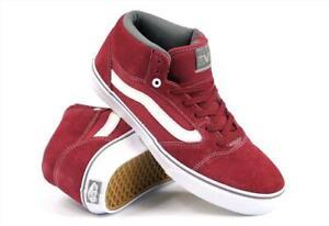 Vans 2012 TNT 5 Mid Skate Shoes Men's Size 10.5 Maroon Trujillo