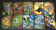 1995 Fleer Ultra X-Men SINISTER OBSERVATIONS Insert Set of 10 Cards, Marvel