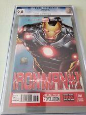 Iron Man 1 Joe Quesada Variant 1 in 100 CGC 9.8 Plus Design Variant 1 in 25