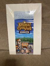 Animal Crossing City Folk Wii Brochure Advertisement Rare