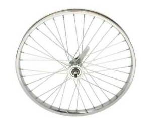 "24"" x 2.125 Steel Rear Wheel 12G Heavy Duty Spokes Coaster Brake Bicycle Cycling"