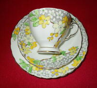 TUSCAN FINE ENGLISH BONE CHINA TRIO ( TEA CUP + SAUCER + TEA PLATE )