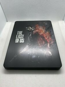 "The Last of Us Steelbook PS4/PS3 (NO GAME DISC) ""CUSTOM"""