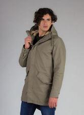 Cappotti e giacche da uomo parke beige taglia L