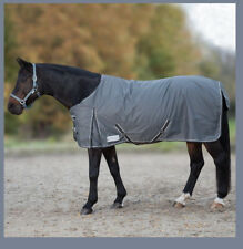 Waldhausen Outdoordecke Economic Fleecefutter Regendecke Pferd grau 125 cm