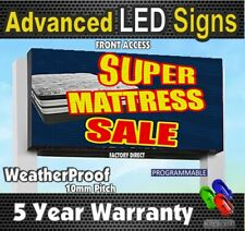 10mm Led Digital Display Full Color Programmable Led Sign 1x6 Feetmade In Usa