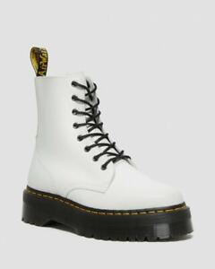 Dr Martens Jadon Platform Combat Boots - Women's 10 [42] ~ $180.00 White