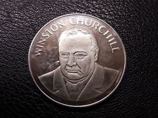 Winston Churchill VE Day 40th Anniversary 1985 Cupro-Nickel Medallion