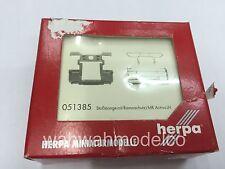 1/87 Herpa Zubehör Stoßstange mit Rammschutz AB Actros LH 4 Stück 051385