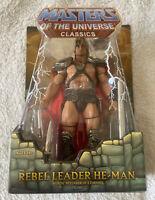 REBEL LEADER HE-MAN Masters of the Universe William Stout MOTU MOTUC BNIB