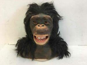 Wowwee Alive Ape Chimpanzee Monkey Animatronic Head Toy Sharper Image