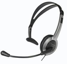 Panasonic RP-TCA430E-S Headset mit Kopfbügel Silber