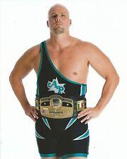 Adam Pearce 8x10 Photo WWE ROH Ring of Honor Picture w/ NWA Wrestling Belt TNA