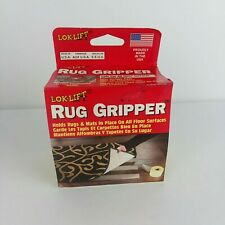 """NEW Lok-Lift RUG GRIPPER 2.5"""" x 25' Holds Rugs & Mats In Place On All Floors USA"""