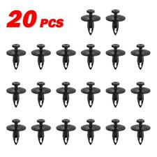 20pcs Push-Type Retainer Bumper Wheelhouse Clip Fastener for Ford