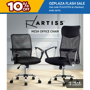 Artiss Gaming Office Chair Computer Chairs Mesh Back Foam Seat Black Work Study