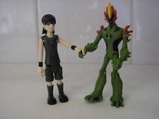 Ben 10 Alien Force con Young Kevin Swampfire Figure