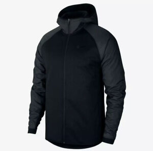 Nike Therma Basketball Winterized Full Zip Hoodie Men's Multi Black CZ2448-010