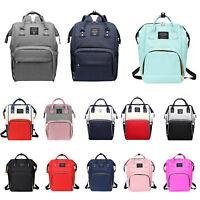 Maternity Nappy Diaper Bag Large Capacity Baby Bag Travel Backpack Handbag Durab