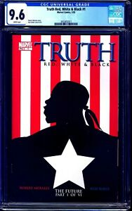 Truth Red White & Black #1 CGC 9.6 1st Isaiah Bradley Captain American NM+