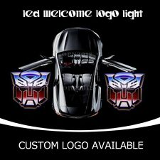 3D Transformers Autobot Car Door LED Projector Logo Laser Ghost Shadow Lights
