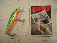 RAPALA ORIGINAL F-7 FT_ESCHE ARTIFICIALI- FLOATING 7cm/4g FIRE TIGER VERT FLUO