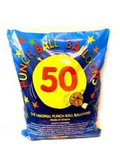 Kids 50x Large Punch Balloons Kids Birthday Party Bag Pinata Fillers Toy
