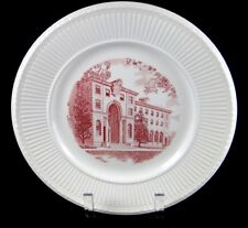 Wedgwood Trinity College, Washington Dc, Alumnae Hall Plate