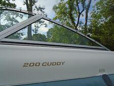 Sunbird 200 Cuddy Boat Port SIDE Window Windshield, THIS SINGLE PIECE ONLY