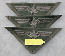 lot de 3 insignes armée de terre  allemande modèle 44 2e guerre mondiale ,repro