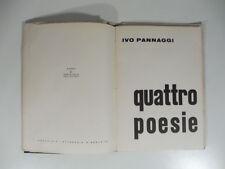 Quattro poesie, Ivo Pannaggi, Oslo, 1965