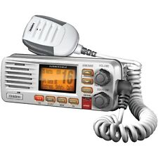 Uniden Fixed Mount VHF/2-Way Marine Radio Programmable Scan Triwatch White New