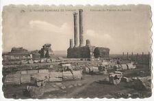 Algeria - Ruines Romaines de Timgad, Colonnes du Pronaos... - 1920's Postcard