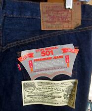 40x34 Vtg NOS 1984 USA Made Levi 501 Denim Jeans Transition 80s NO Redline DS
